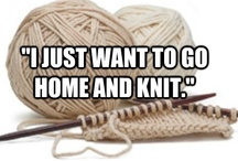 Knitting & Crochet! / by Tiffany Parkin
