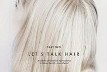 Let's talk hair / by Thelma Sigurdórsdóttir