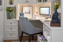 Home Offices / Working from home? Why not make it stylish and functional as well?  / by DesignHouse - Debra Taylor Purvis