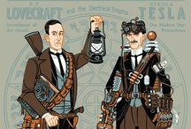 §3 Major personalities #steampunk #gothic /  ❦ Major steampunk and gothic personalities ❦ Authors and innovators ❦ Literary and historical characters (incl. Sherlock and the Doctor) ❦ Steampunk superheroes and other genre crossovers ❦ Art and photography (incl. cosplay) ❦ / by Ant Allan
