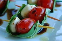 Appetizers/ Party foods. / by Melissa Rubin