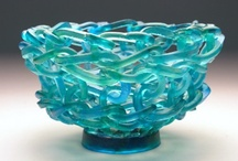 Glass - contemporary / by Rosemary Washburn