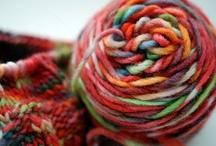Felting and Yarn / by Debi Woloszyk
