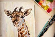 Sketchbook / Randoms from my sketchbook / by Robin Carnes (Ewers)