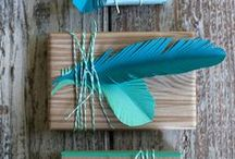 gift wrap love / Pretty Presents and Gift Wrapping DIY Ideas  / by Ciaran Blumenfeld