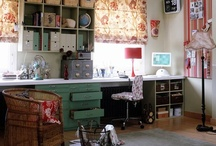 Craft room/office / by Suzi Corwith
