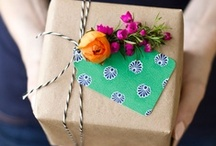 GIFT / Buy, Wrap, & Give. / by Katherine Rankin