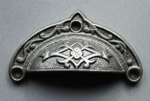 Drawer Pulls & Handles / Antique & Vintage Style Cast Iron Drawer Pull Handles.  / by Yester Home