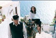 Greece in the movies  / Many blckbuster movies have been filmed in Greece, including Shirley Valentine, Captain Corelli's Mandolin, Sisterhood of the travelling pants and many more.  / by Ionian Weddings