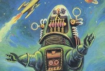 Robots / Everyone loves robots. / by Scott Kinney
