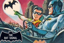 Bat Signal / Criminals are terrorized by its sight! / by Scott Kinney