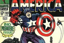 Comic Books and Graphic Novels / Some of my favorite comic book covers and illustrations! / by Scott Kinney