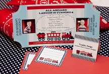 Train Birthday Party / by Banner Events