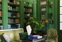 Color: Green Rooms I Love / by Lindajane Keefer