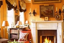 Color: Orange-Peach-Salmon-Pumpkin Rooms I Love / by Lindajane Keefer