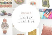 Winter Wish List: Janelle / A wish list for the world traveler inspired by exotic locales on the must-visit list of Petunia's Creative Director. / by Petunia