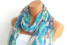 I love a scarf!  / by Christiana Mitchum