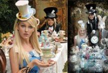 Party theme - Alice in Wonderland / by Svetlana Kuperman