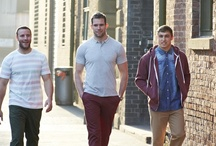 Wigan Warriors RLFC for Jacamo / Some of the guys from Wigan Warriors RLFC modelling for Jacamo. / by Jacamo UK