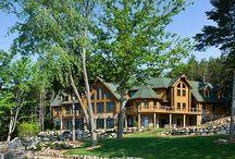 Log Home / by Scott Weaver