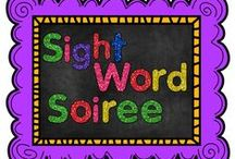 Sight Word Soiree / This board is specifically for all things SIGHT WORDS!  It can be Dolch, Fry, Fountas and Pinnell, etc...  Both FREE and priced products are presented.  If you would like to contribute, please e-mail me at dawndelz@gmail.com.  Thanks! / by The Teaching Resource Resort