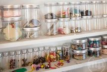 """Organize it / """"Cleaning is just putting stuff in less obvious places."""" -Unknown / by Kate Persons"""