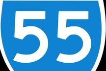 "Turning ""55"" ! / by Cindy Priko-Thiele"