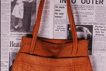 leather bags / by Ethel Robis-Fortaleza