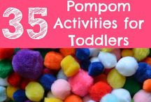 Toddler activities / by Kate Persons