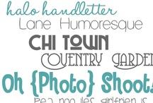 Fonts / by Lani Allen