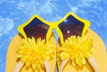 Flip Flops and Sunglasses / by Pamela Brown