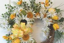 Innovative Wreaths / Wreaths of All Kinds / by Susan Robbins Mauriello