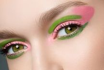 My Eyes See Pink & Green / My Favorite Color Combinations <3 / by Susan Robbins Mauriello