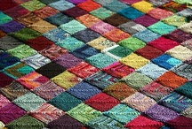 """Yarn Musings by Dreamweaver / """"The very best mistakes are made because we're not afraid to try something new. It doesn't matter how lumpy the knitting of your life is, it still makes a unique and beautiful pattern, don't you think?"""" ~ Tess Giles Marshall / by Luckie Daniels"""