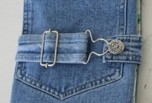 Denim DIY & Repurposed / repurpose old denim jeans, skirts, ans shirts to make accessories for you and your home / by Maria Gracey