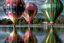 Hot Air Balloons Up, Up & Away / by Bonnie
