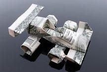 Money Folding ideas / by Bonnie