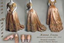 19th Century Fashion / Women's apparel, shoes, purses, jewelry, wedding dresses / by Lisa Watson