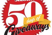 50 Days of Giveaways: Pin What You Want to Win! / In  honor of 50 years of publishing St. Louis Magazine, we are giving our readers a chance to win 50 fabulous prizes for 50 straight days. Every day features a new prize and a new chance to win. Plus, each daily prize winner will be entered for a chance to win the $25,000 Grand Prize—a 3 Year Automobile lease from Frank Leta Acura or Frank Leta Honda! Enter once a day, every day. No purchase necessary. See stlmag.com for rules and restrictions.  / by St. Louis Magazine