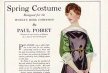 Paul Poiret / clothing / by Lisa Watson