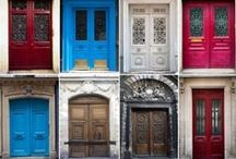 Behind Door #1 / entryways / by Lisa Watson