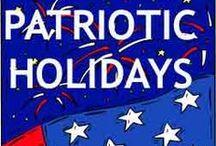 Patriotic Holidays / by Amanda Bennett Unit Studies