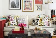 living room / by Carly Wells