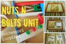 Montessori fun for preschool and early elementary / Montessori practical life, motor skill development, and other skills for preschool and early elementary ages. / by Lara @ Lara's Place and a Cup of Grace
