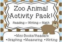 Zoo unit study / Zoo unit study ideas for preschool and early elementary / by Lara @ Lara's Place and a Cup of Grace