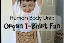 Human body unit / PreK/Elementary human body and anatomy unit study resources and ideas. #homeschool #unitstudy / by Lara @ Lara's Place and a Cup of Grace