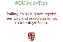 #DUStudyTips / by Drury University