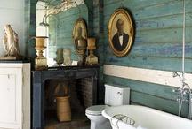 Bathrooms / For bathroom redos. / by Angela