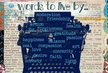 words / by Cathleene White