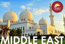Taste of Middle East / Located at the crossroads of Europe, Asia and Africa, the Middle East has housed many of history's greatest empires. Visitors can admire Israel's iconic holy sites, be astounded by Jordan's lost city of Petra and delve into Oman's magnificent forts and oases. / by Tempo Holidays